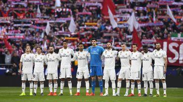 Les joueurs du Real Madrid