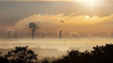 L'émission des gaz à effet de serre en hausse pour la deuxième année de suite en Belgique