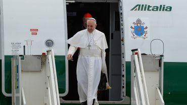 Le pape a donné une interviews aux journalistes
