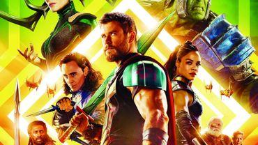 """Le très attendu """"Thor: Ragnarok"""" a engrangé 107,6 millions de dollars de recettes lors de sa première semaine d'exploitation"""