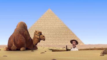 Regardez Les Pyramides d'Egypte, amusant court métrage d'animation