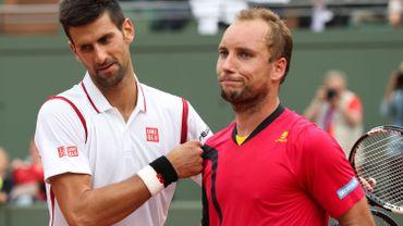 """Steve Darcis """"content d'avoir agacé Djokovic"""""""