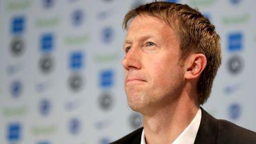 Graham Potter, le nouveau manager de Brighton and Hove Albion