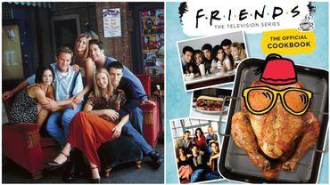 Un livre de recettes officielles de la série Friends arrive
