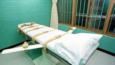 une chambre d'exécution par injection létale, à Huntsville, Texas, le 29 février 2000