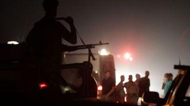 Incendie au dépôt d'armes de Rajma