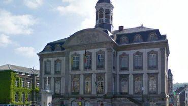 La maison communale de Verviers.