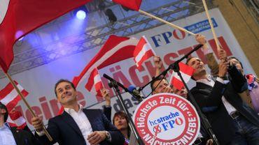 Le FPÖ gouverne l'Autriche au sein d'une coalition formée par les conservateurs de Sebastian Kurz