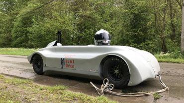 La machine de Julien Menchior peut atteindre les 100 Km/h