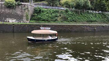 Les Namourettes, ce sont ces petits bateaux qui, en été, circulent sur la Meuse et la Sambre.