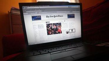 La version en ligne du New York Time, le 20 janvier 2010