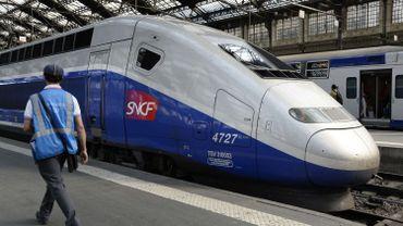Un TGV stoppé pendant plus d'1h à cause de 160 patrons ivres