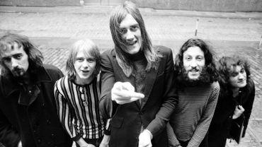 De gauche à droite, John McVie, Danny Kirwan, Mick Fleetwood, Peter Green, et Jeremy Spencer en 1969