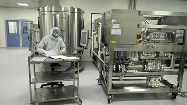 Le laboratoire mAbxience à Garin, en Argentine, où doit être produit un vaccin expérimental contre le Covid-19, le 14 août 2020