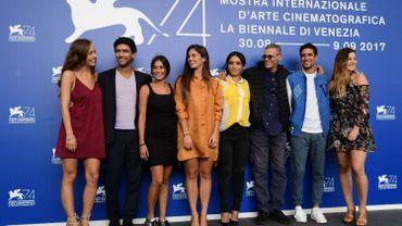 """L'équipe de """"Mektoub, my love"""" à la Mostra de Venise."""