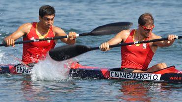 Olivier Cauwenbergh et Laurens Pannecoucke terminent 12ème du K2 200m