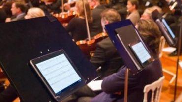 Le Brussels Philharmonic passe aux partitions digitales
