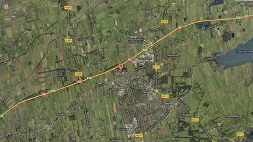 La région de Tobert et le polder