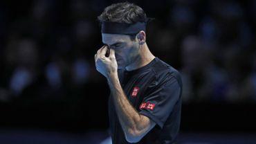 Roger Federer battu par Dominic Thiem pour son entrée en lice au Masters