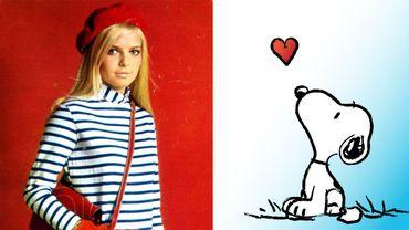 France Gall, Snoopy et culotte Petit Bateau dans Pop & Snob