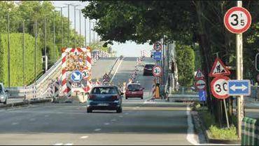 Toujours pas de date pour le début de la démolition du viaduc Reyers.