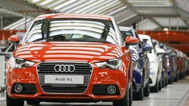 Audi à Forest (Bruxelles)