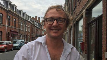 Sébastien Hébrant, comédien, metteur en scène et programmateur au Théâtre Jardin Passion à Namur