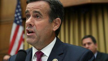 John Ratcliffe, élu du Texas à la Chambre des Représentants, le 24 juillet 2019 à Washington