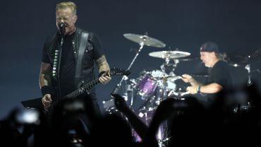 Metallica sera à nouveau vendredi soir au Sportpaleis.