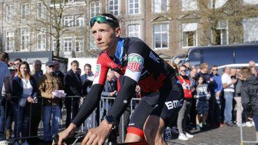 Dylan Teuns, leader chez BMC sur la Flèche Wallonne, vise un nouveau podium