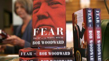 """Le nouveau livre du journaliste d'investigation Bob Woodward, """"Fear"""", qui dresse un tableau apocalyptique de l'administration Trump, est sorti aux Etats -Unis le 11 septembre 2018"""