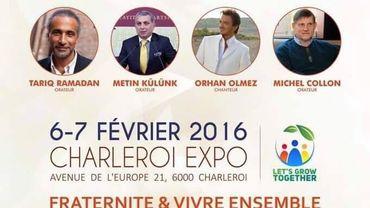 L'affiche du salon Muslim Expo.