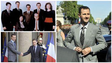 """Bachar al-Assad, de l'ophtalmologue londonien au """"boucher de Damas"""""""