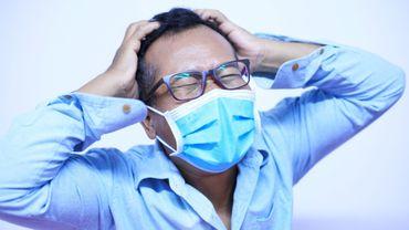 Le masque peut parfois nous irriter la peau
