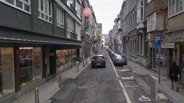 La rue de la Casquette, avant les travaux