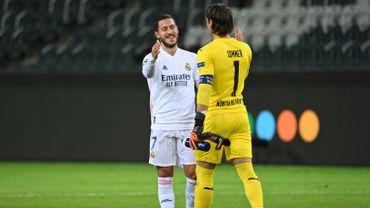 Eden Hazard a pu rejouer hier lors du partage en Ligue des Champions entre le Borussia Borussia Mönchengladbach et le Real Madrid.