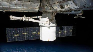 La capsule Dragon de SpaceX s'est désamarrée de la Station spatiale