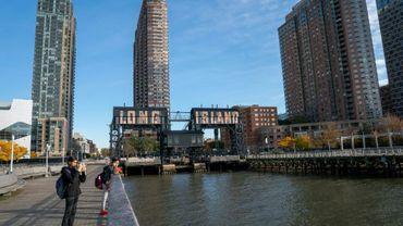 Le quartier de Long Island City à New York, où Amazon a annoncé vouloir installer un nouveau siège, photographié ici le 7 novembre 2018
