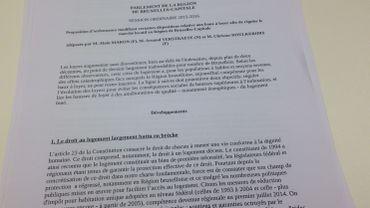 La proposition du groupe Ecolo-Groen pour encadrer les loyers