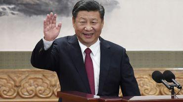 Le président chinois Xi Jinping à Pékin le 25 octobre 2017