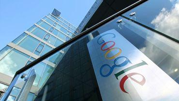Le siège européen de Google à Dublin, le 19 novembre 2010