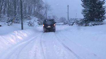 Mobilinfo de ce jeudi: Il neige par endroits