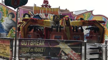 Out Break, la nouvelle attraction à sensation de cette Foire du Midi 2017