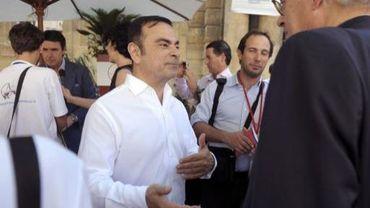 Le PDG de Renault, Carlos Ghosn, au Forum économique d'Aix-en-Provence le 6 juillet 2013