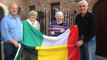 Jean-Marc, Pascale, Annette et Giuseppe, deux couples belgo-italiens