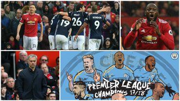 West Brom surprend United et offre le titre au City de De Bruyne et Kompany