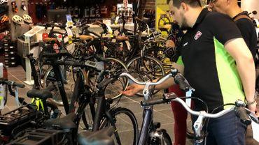Ce magasin de vélos ouvert en 1936  se consacre désormais exclusivement à l'électrique