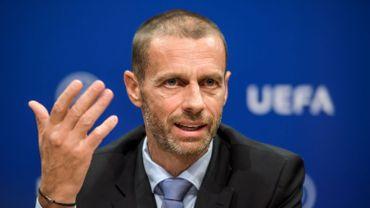"""""""Ils étaient incapables de nous fournir les documents et les garanties"""", a déclaré le président de l'UEFA."""