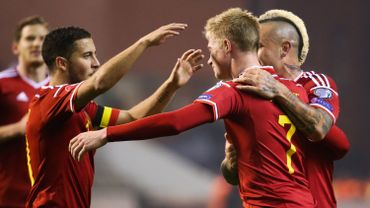 Eden Hazard et Kevin De Bruyne meilleurs buteurs belges de la campagne qualificative