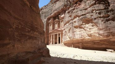 La cité antique de Petra, vide de touristes, le 1er juin 2020
